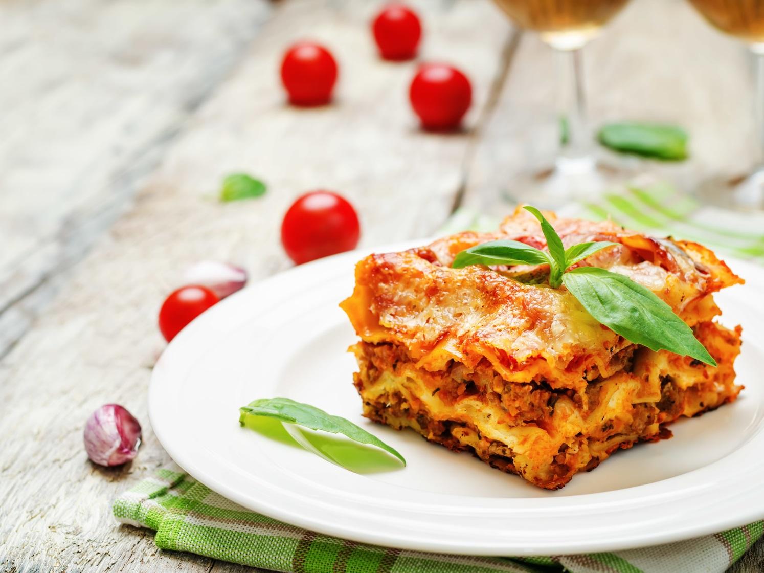 Lasagne, Abendessen, Italiener, Entspannung, Essen, Arrangement, Pauschale, Bad Steben