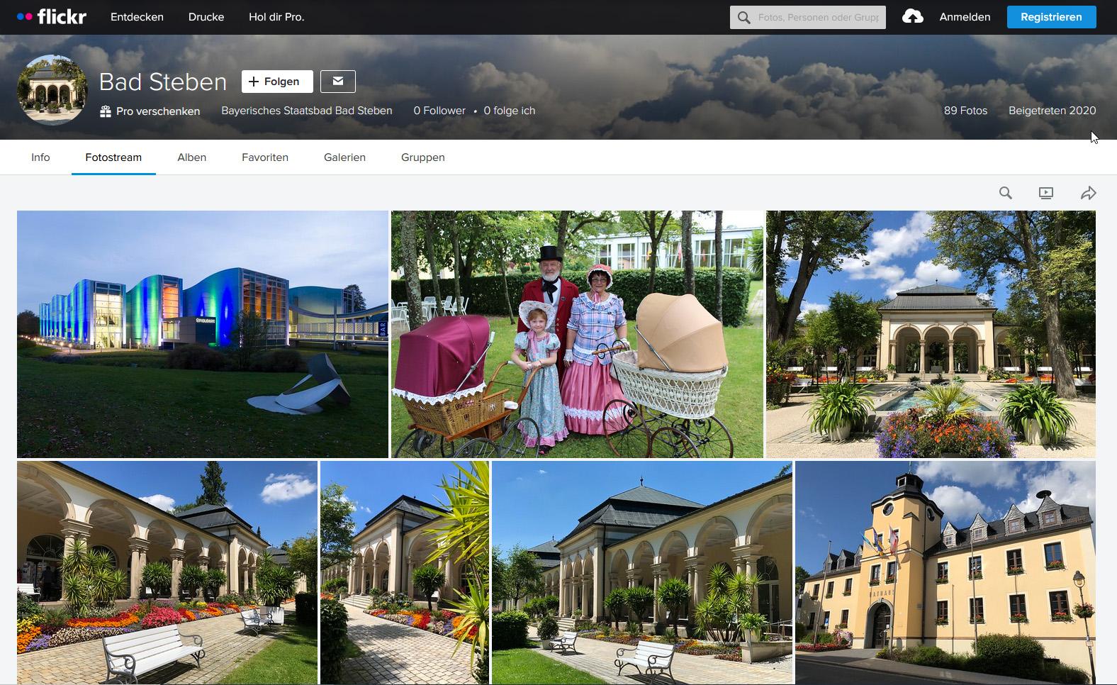 Bilder-Portal des Bayerischen Staatsbades Bad Steben, Presse