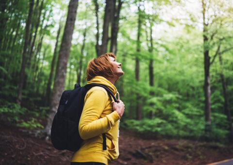 Waldbaden und Gesundheitb